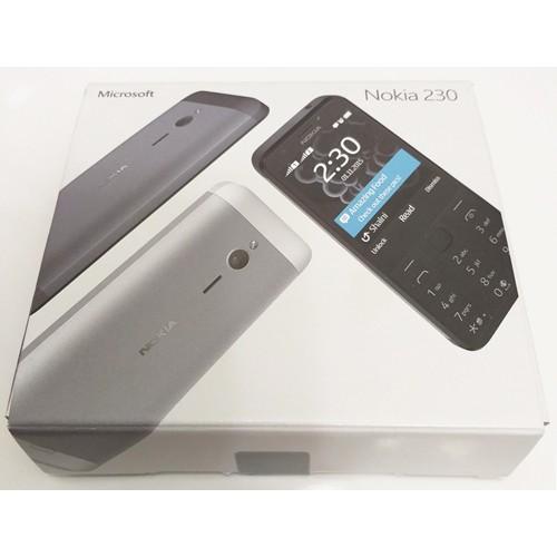 Телефон Nokia 230 Dual Sim Dark Silver/Black Б/У