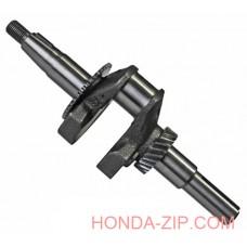 Вал коленчатый двигателя HONDA GX160 шпонка 20мм