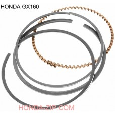 Кольца поршневые HONDA GX160, HONDA GX200 STD. 1.5мм