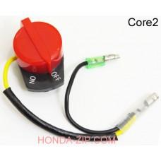 Выключатель зажигания двигателя HONDA GX160, HONDA GX200 два кабеля