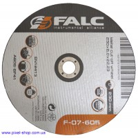 Круг абразивный шлифовальный 230х6,0х22,2 A24S BF FALC для стали (размеры 115-230мм)