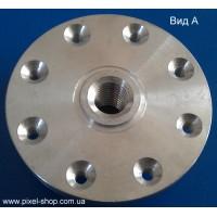 Фланец алюминиевый 230х8хМ14мм REKS к дискам диаметром 230мм