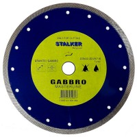 Круг алмазный 230x2,8x7,5x22,2 GABBRO MasterLine STALKER для габбро, мягкого гранита