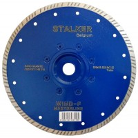Круг алмазный 230x2,8x7,5x22,2 WIND-F MasterLine STALKER для гранита, камня