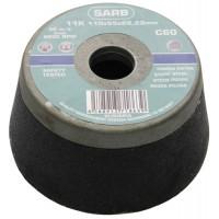 Чашка абразивная 110x55xМ14мм С60 SARB для камня, бетона