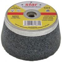Чашка абразивная 110x55xМ14мм С16 STAR для камня, бетона