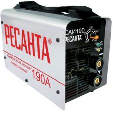 Сварочный инвертор САИ 190 (Ресанта)