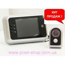 Видеоглазок GUARD 750.01 с монитором и датчиком движения