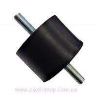 Амортизатор резиновый Shocker PLA 40x40мм тип А