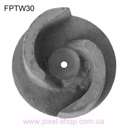 Крыльчатка для мотопомпы FORTE FPTW30 шпонка