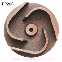 Крыльчатка для мотопомпы FORTE FP20C шпонка
