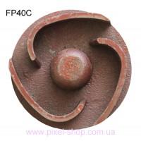 Крыльчатка для мотопомпы FORTE FP40C резьба